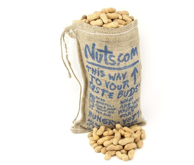 burlap bag of peanuts bags of nuts gifts nuts com