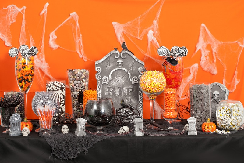 Super Halloween Candy Buffet — Candy Buffets — Wedding Candy — Nuts.com TY87