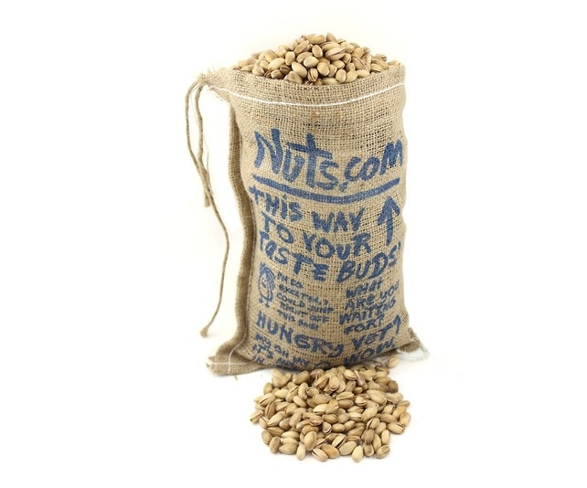 Burlap Bag Of Antep Pistachios Item Zoom
