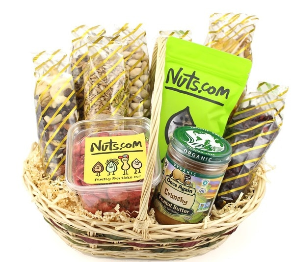 Delectable organic gift basket nuts negle Image collections