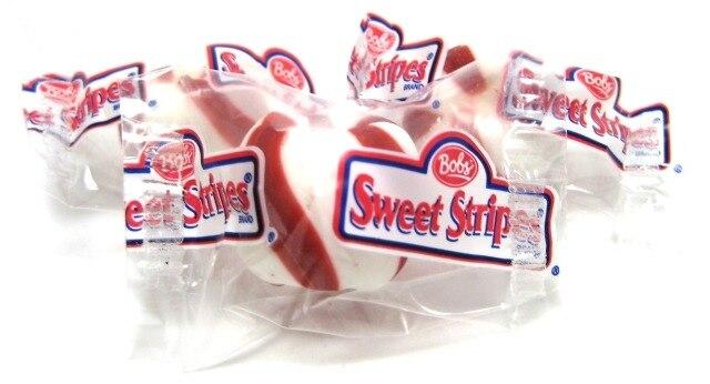 Bobs Sweet Stripes Mint Hard Candy Nuts Com