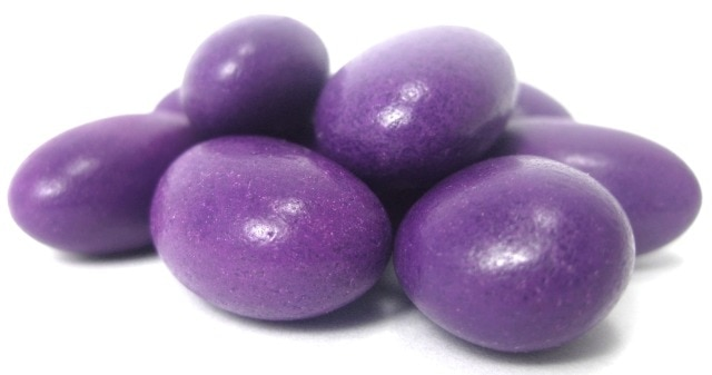 Purple Jordan Almonds By The Pound Nuts Com