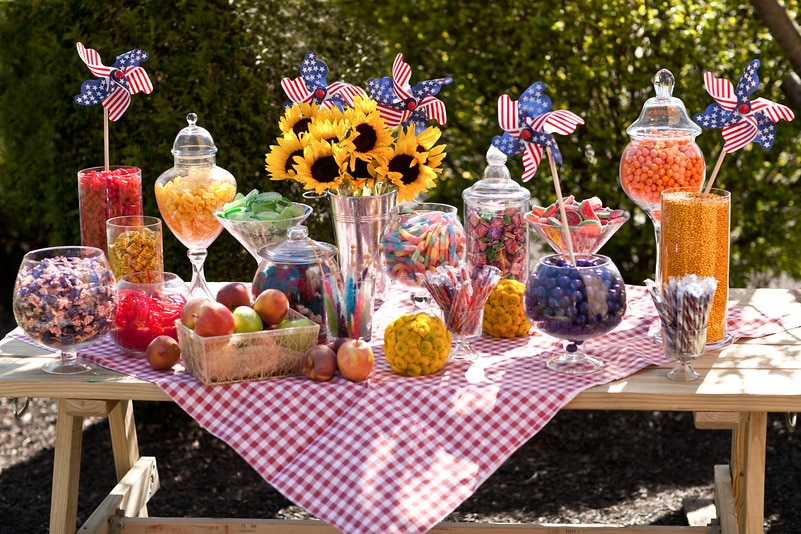 Peachy Summer Candy Buffet Candy Buffets Wedding Candy Nuts Com Download Free Architecture Designs Osuribritishbridgeorg