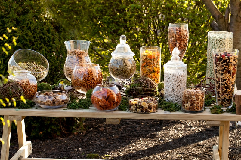 Rustic Snack Buffet — Candy Buffets — Wedding Candy — Nuts.com
