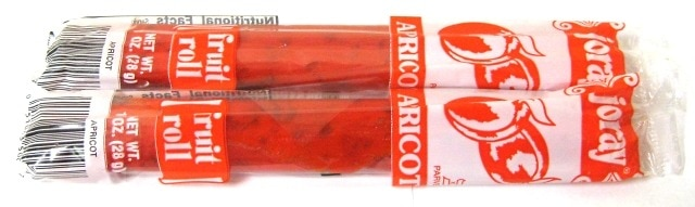 Apricot Fruit Leather Rolls - Fruit Leather - Dried Fruit - Nuts.com