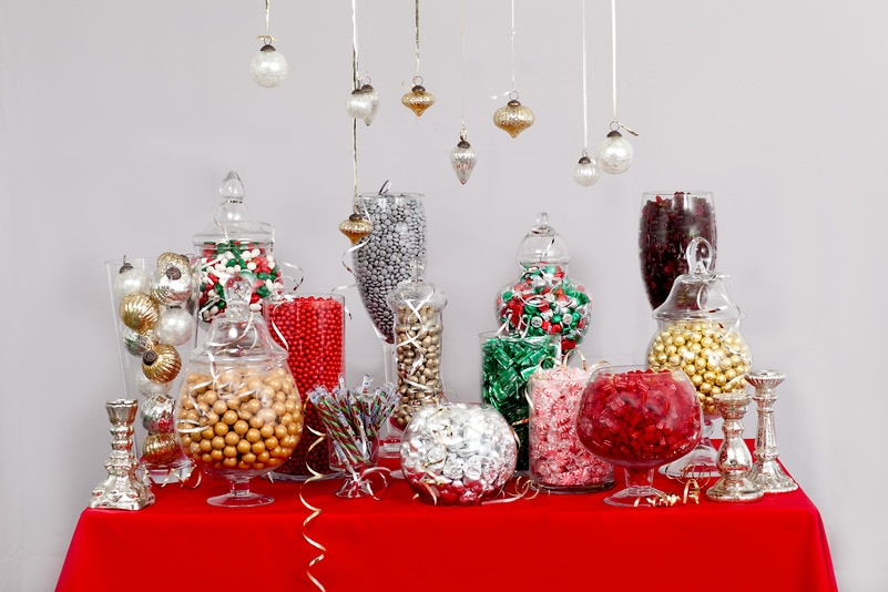Holiday Candy Buffet — Candy Buffets — Wedding Candy — Nuts.com