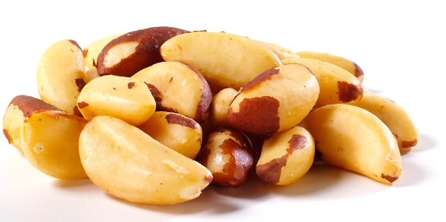 Roasted Brazil Nuts Salted By The Pound Nuts Com