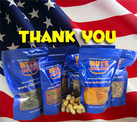 NUTS for soldiers package photo