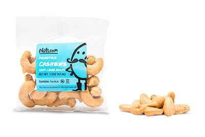Roasted Cashews (50% Less Salt)