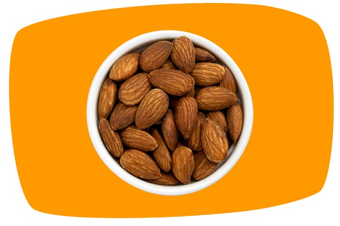 Roasted Almonds (Unsalted) - By the