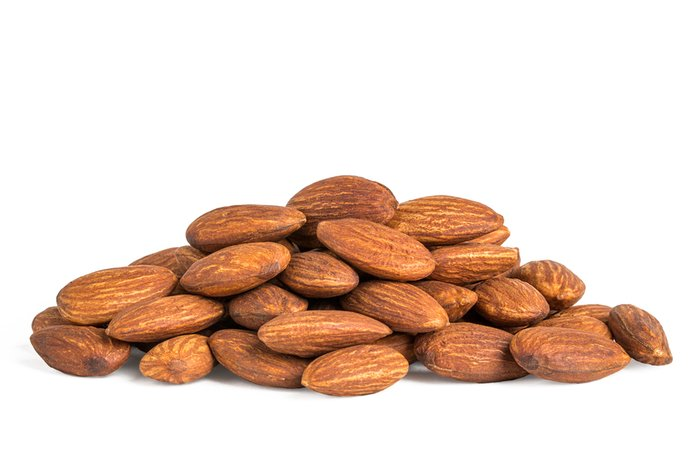 Unsalted Dry Roasted Almonds - By the