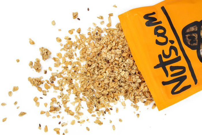 Organic Hemp and Flax Granola - Snacks