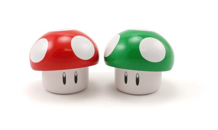 Mario Brothers Nintendo Mushroom Sours Novelty Candy