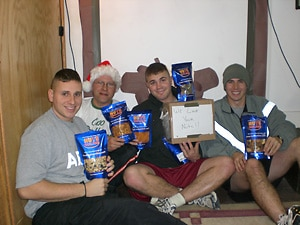 nuts for our troops