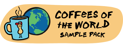 Coffees of the world sample pack