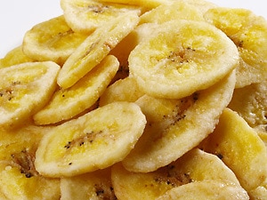 Unsweetened Dried Banana Chips